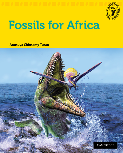 Fossils for Africa book cover